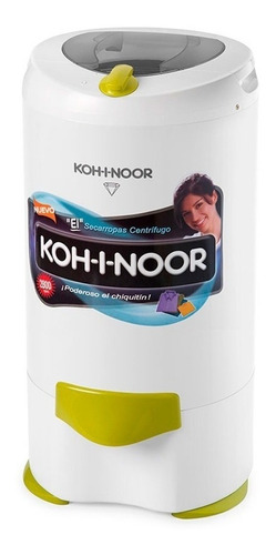 Secarropa Kohinoor C-765 6,5kg Visión Plastico