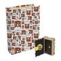 Livro Cofre Simpsons Duff 21x13x5cm Branco Trevisan Concept