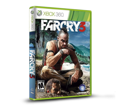 Far Cry 3 Standard Edition Físico Xbox 360 Ubisoft