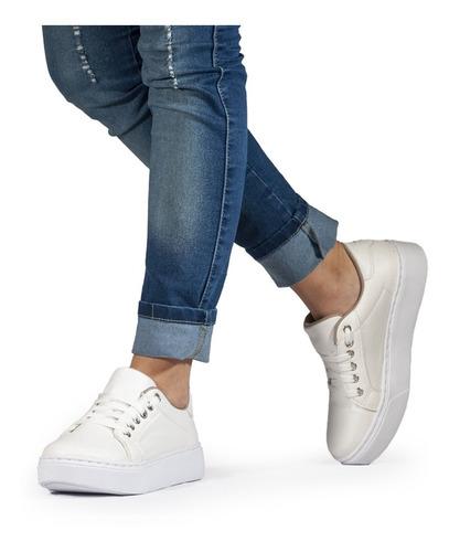 Zapatilla Mujer Sneaker Urbana Plataforma 35-41 Moda - Arona