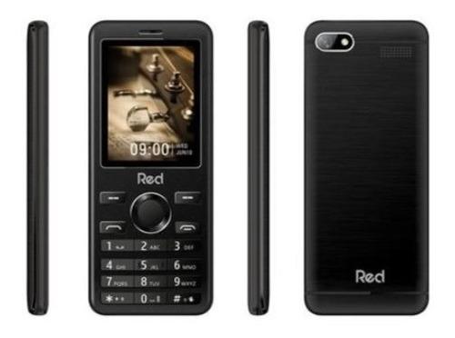 Celular Red Mobile Prime, Tela 2.4 Pol, Preto - M012f