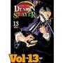 Demon Slayer Vol. 13 Kimetsu No Yaiba Panini Mangá Lacrado