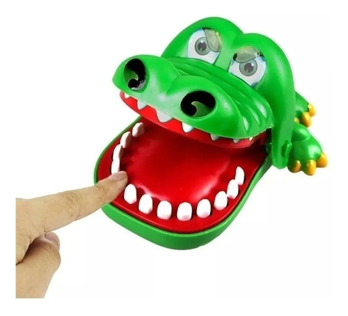 Jogo Crocodilo Dentista - Pegadinha Mordida Crocodilo