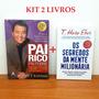 Kit Livros Pai Rico Pai Pobre 20 Segredos Mente Milionária