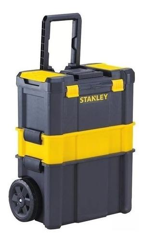 Caja De Herramientas Stanley Stst18631 De Plástico Con Ruedas 62.3cm X 28cm Negra