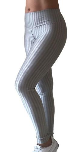 Roupa De Academia Calca Leg 3d Cirre Feminina + Brinde