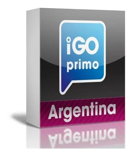 Navegador Igo Primo O Nextgen Con Ultimos Mapa De Argentina Y Limitrofes P/ Car Stereos Con Sistemas Android Gps Chino
