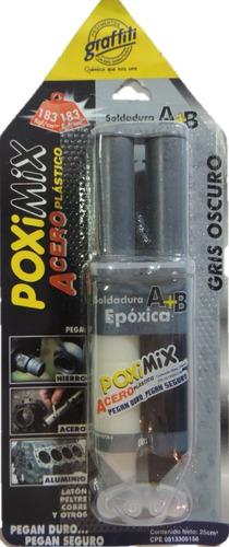 Pega Acero Plastico Pack 2 Unds