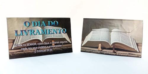 500  Envelopes Personalizado Para Campanha Evangélica