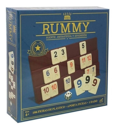 Juego De Mesa Rummy Jumbo Novelty Corp