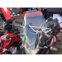 Para Brisa Moto Xre 300 Bolha Moto Honda Xre300 Cristal