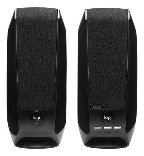 Parlante Logitech S150 Portátil  Black 220v