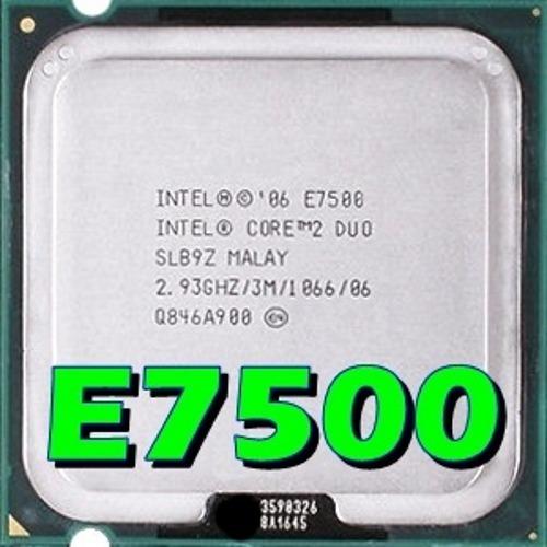 Processador Intel Core 2 Duo E7500 2.93ghz 1066mhz Lga 775
