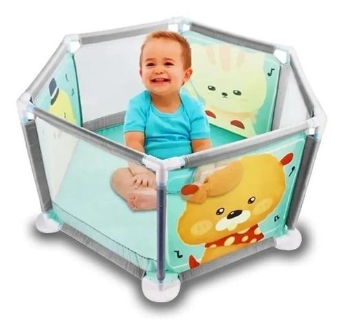 Cercadinho Para Bebê Cercado Grande Baby Criança Portátil