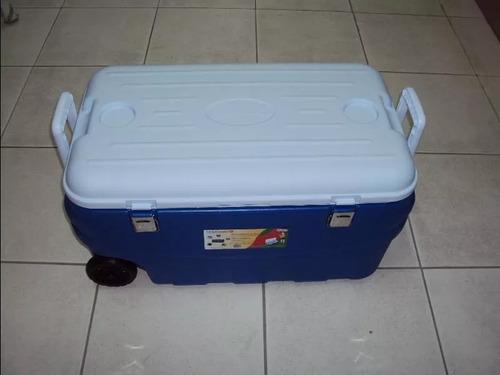 Cooler Caixa Térmica Easycooler 80l Com Roda