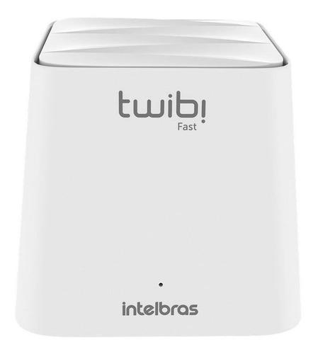 Roteador, Sistema Wi-fi Mesh Intelbras Twibi Fast 4750070 Branco 100v/240v