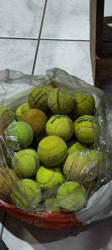 Bolas De Tênis Usadas Boa Para Treino