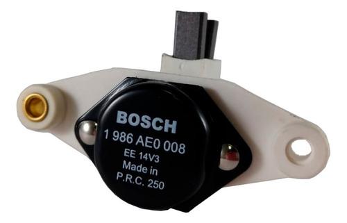 Regulador De Voltagem Do Alternador Bosch 12v Uno Verona Monza Apollo Gol Santana Voyage Parati Escort