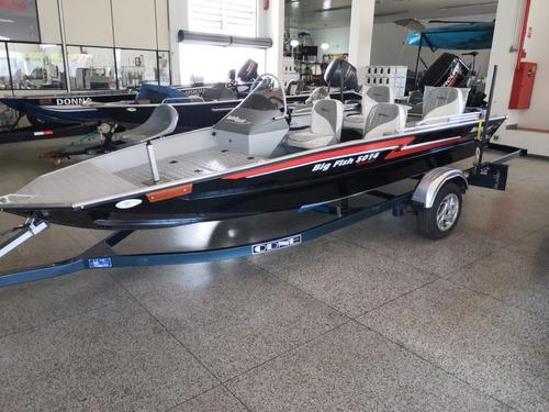 Barco Big Fish 5014 Sport + Mercury 50hp 2t + Carreta