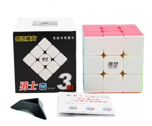 Cubo  Qiyi Warrior W     5,6cm   Stickerless  + Base