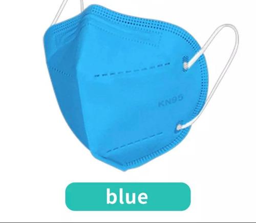 10 Máscaras Kn95 Proteção 5 Camada Respiratória Pff2 N95
