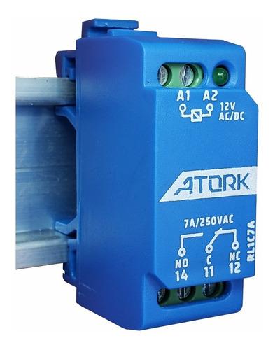 Relé Interface Acoplador Atork, 12v, 24v, 127v, 220v