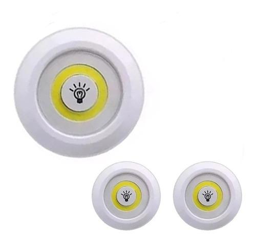 Lampadas 3 Unidades Sem Controle  Spot Led 5w Teto Cozinha