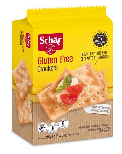 Galletita Schär Crackers Sin Tacc 210g