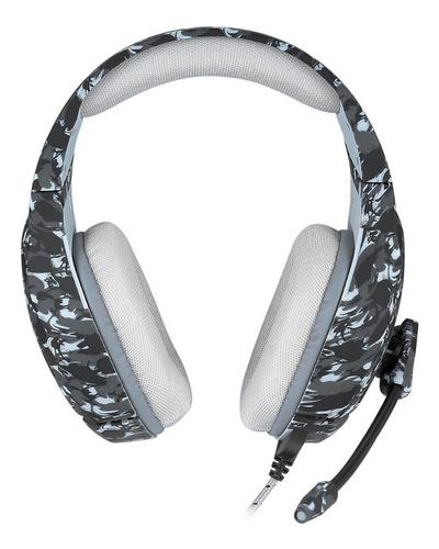 Gamer Onikuma K1-b Camouflage Gray Headphones - Ecart