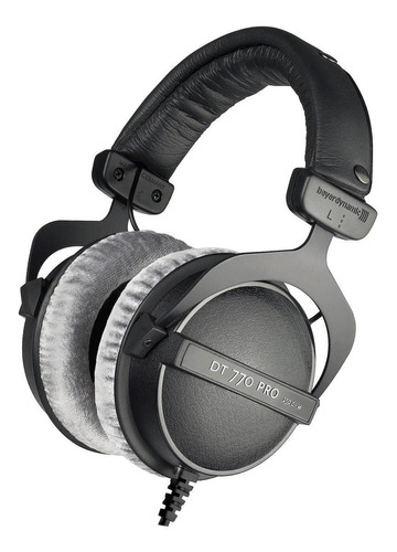 Audífonos Beyerdynamic Dt 770 Pro 250 Ohm Negro Y Gris