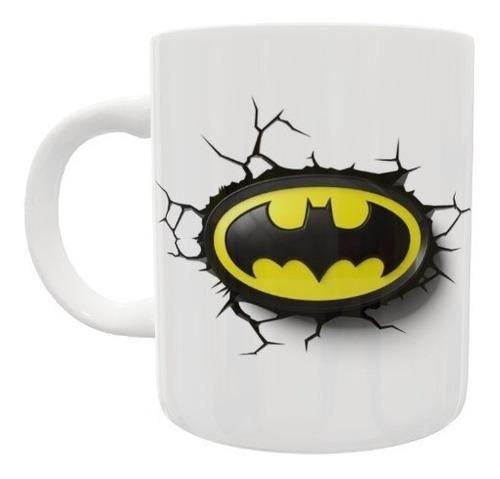 Caneca De Porcelana 3d Batman - Super Heróis