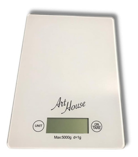 Balança Digital Touch 5kg Vidro Temperado Para Cozinha Slim