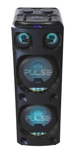 Caixa De Som Torre Double 12pol 2200w Pulse Sp500 Multilaser