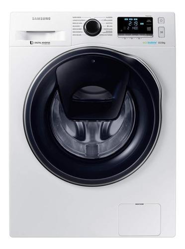 Lavasecarropas Automático Samsung Wd10k6410o Inverter Blanco 10kg 220v