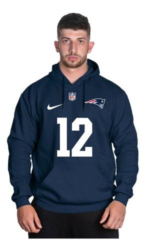 Blusa De Moletom Futebol Americano New England Patriots Nfl