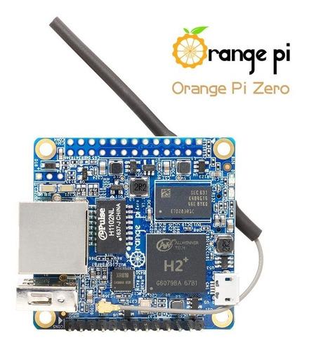 Orange Pi Zero Quadcore Allwinner 512mb Ram Wifi