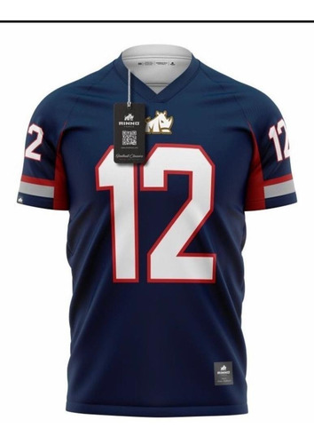 Camisa Patriots Dry Rinno Force Futebol Americano