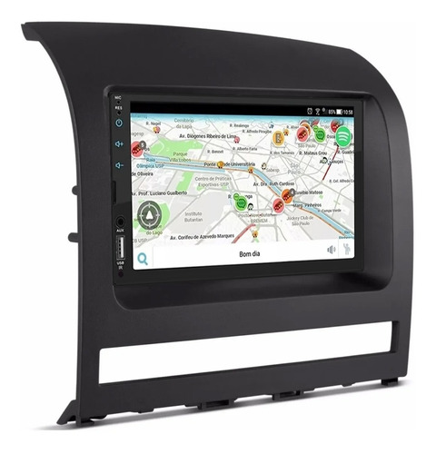 Central Multimídia Mp5 Automotivo Espelhamento Android Ios