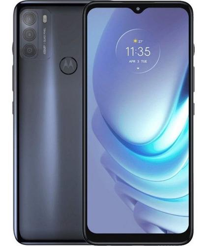 Motorola Moto G50 Xt-2137 5g 64gb 4gb Ram Steel Grey + Fone