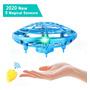 Mini Zangão Ufo Mão Brinquedos Para Meninos E Meninas 360°