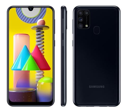 Smartphone Samsung Galaxy M31 128gb Preto 4g - 6gb Ram Tela