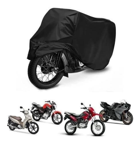 Capa Cobrir Moto Termica Sol Chuva 100% Forrada Impermeável