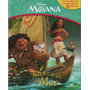 Moana Aventuras Do Mar 10 Miniaturas Cenário Gigante Disney