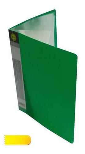 Carpeta Folder Con Fundas Catalogo Carta
