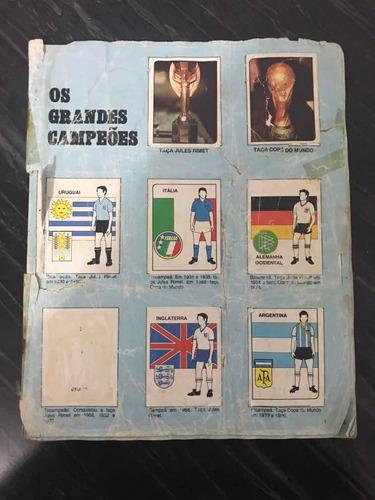 Álbum De Figurinhas Copa Do Mundo 1990 - Raridade - S/capa