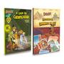 Kit Livros Infantis Do Scooby doo 2 Livros Novos