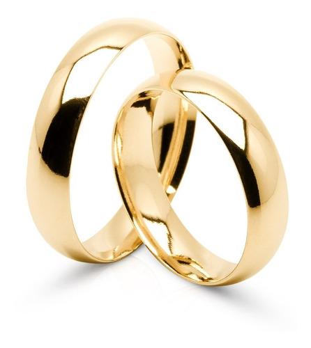 Par De Alianças Ouro 18k 3 Gramas  3mm  Casamento E Noivado!