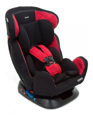 Cadeira Infantil Para Carro Cosco Avant Vermelho E Preto