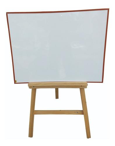 Tablero Acrílico Borrable Con Tripode+borrador (80cmx60cm)