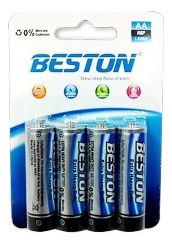 Bst-r6p - Bateria Beston Aa Carbon Blister X 4